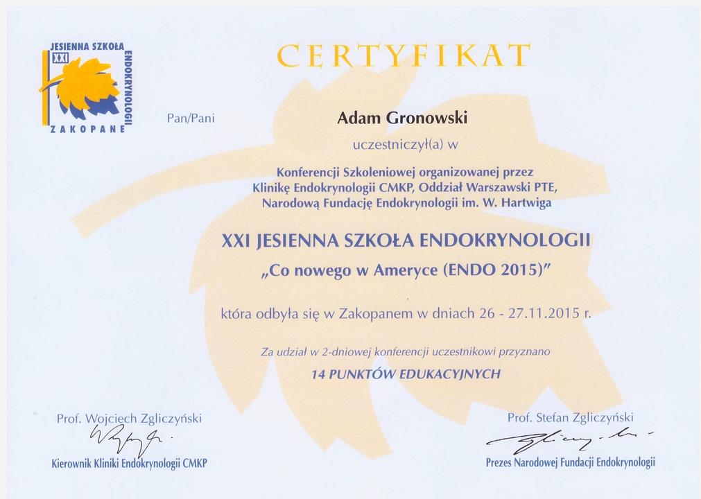 Endokrynologia Caritas w Sopocie