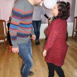 para, balon, zabawa, taniec